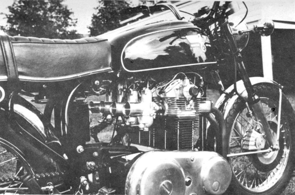 Building a Norton Four | The Vintagent