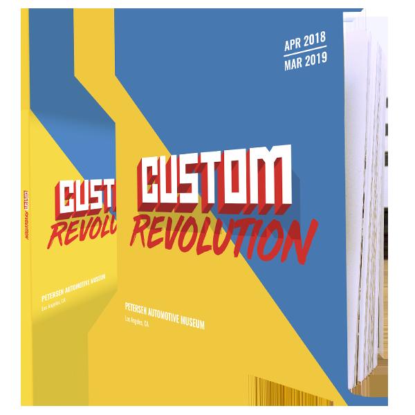 custom revolution catalog