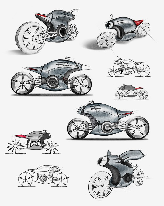 Would Ducati Build This Electric Motorcycle The Vintagent